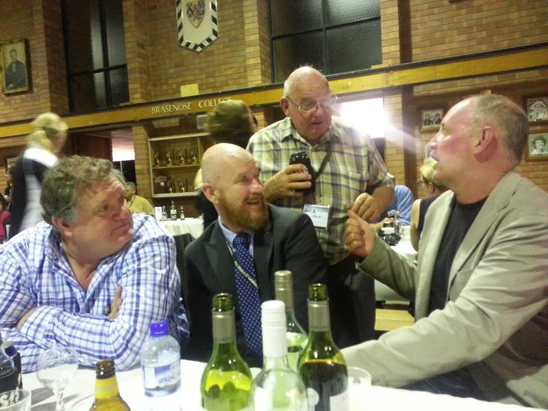 Anton booij Dabid Griffiths, Ken Peace, Michael Roderick