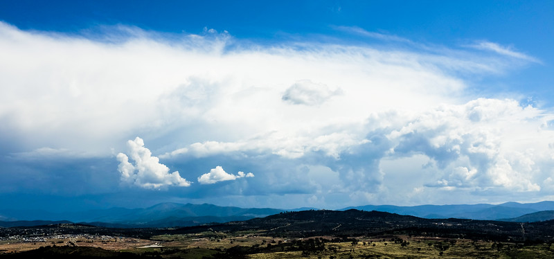 Summer storm in Canberra