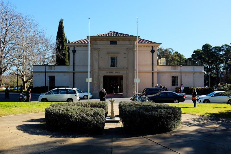 Albert Hall, Canberra