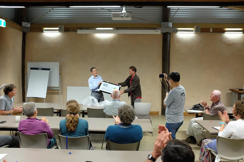 Chin Wong,  Wong-Farquhar Workshop, March 2015, Kioloa