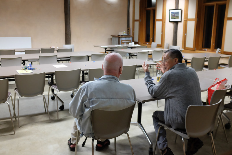 Chin Wong and Ian Cowan,  Wong-Farquhar Workshop, March 2015, Kioloa