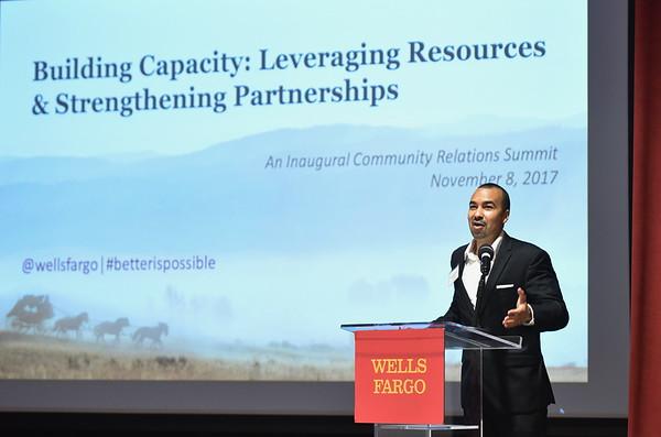 Wells Fargo Community Relations Summit 11/8/17