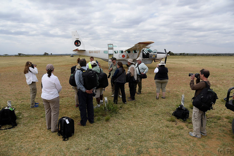Eight day of Mentor Trek Africa, in Serengeti National Park. Flight back to JRO over Ngorongoro crater.. Nikkor 24-120 f/4 and 200-500 f/5.6 lenses.<br /> (Photo by Reed Hoffmann on 6/25/16)<br /> <br /> NIKON D750, mode, white balance of SUNNY, ISO 200, 1/500 at f/7.1, EV -0.3, Nikkor lens at 24mm, Picture Control set to STANDARD.<br /> Photo copyright Reed Hoffmann.