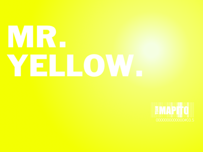 MAPITO Location Manager Mr  Yellow