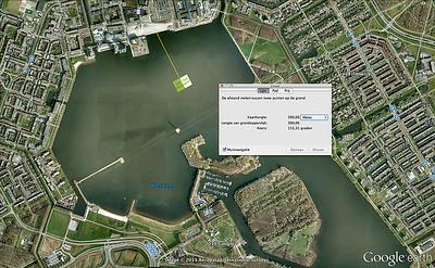 KAF & Map centre of Almere
