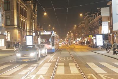 Van Baerlestraat - scaffolding!
