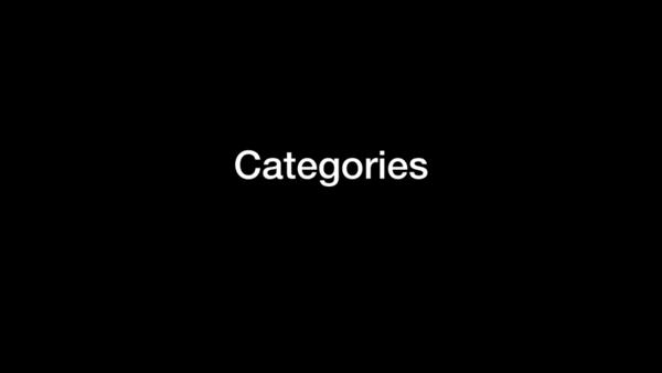 Main Categories