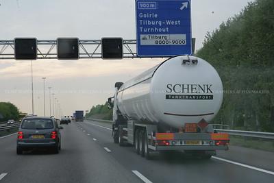 SCHENK Tanktransport truck white
