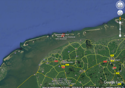 Mapping the Island of Ameland