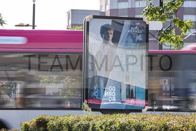 Outdoor Media Campaign Hermès H24.  Credits: Anima Advertising