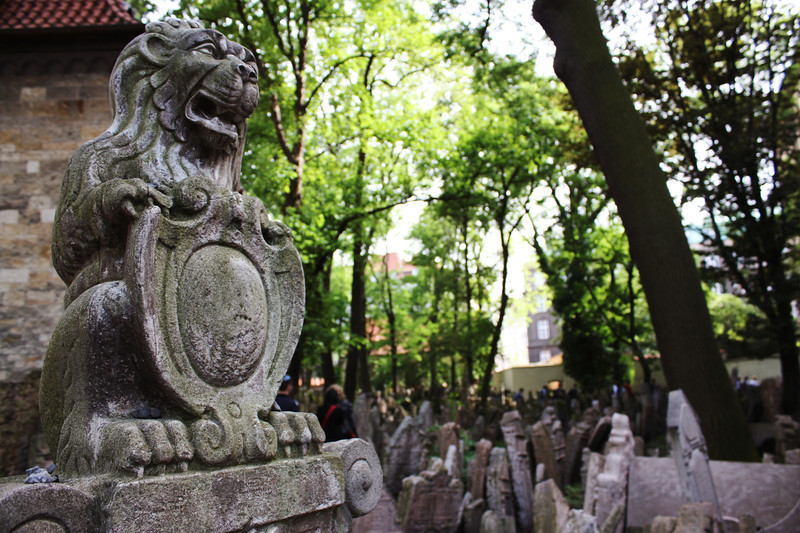 Old Jewish Cemetery - Prague, Czech Republic