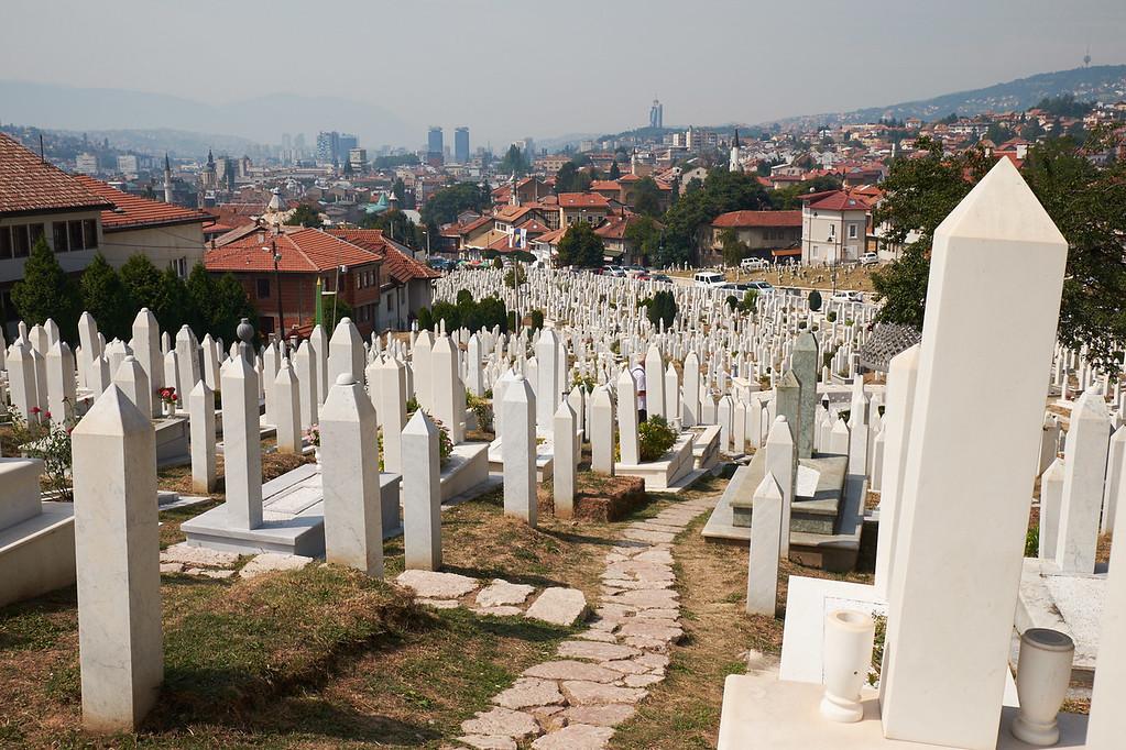 Šehidsko mezarje Kovači - Sarajevo, Bosnia & Herzegovina