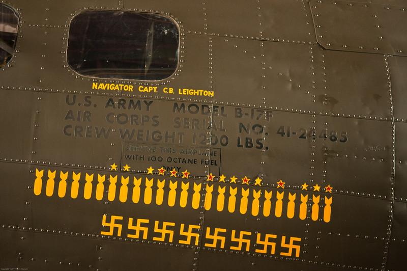 110416_Seymour-Johnson Air Show_105    B-17 F model.