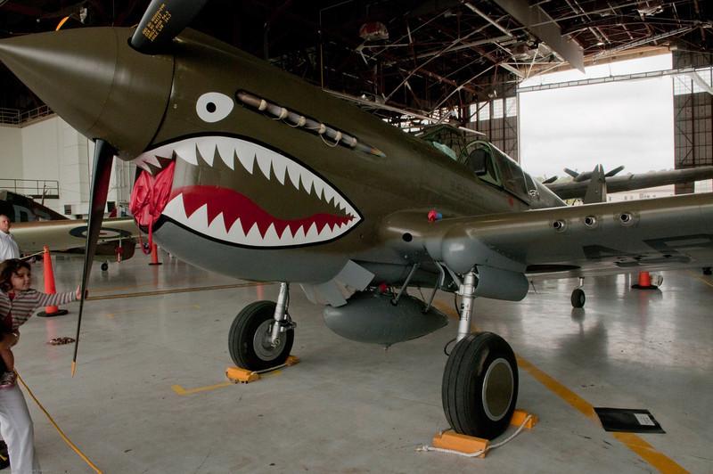 110416_Seymour-Johnson Air Show_091    P-40 Warhawk/Flying Tiger.