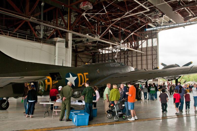 """110416_Seymour-Johnson Air Show_095   B-17 (the """"Memphis Belle)."""
