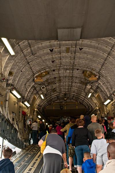 110416_Seymour-Johnson Air Show_059   C-17 Business area/Cargo compartment.