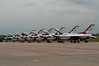 110416_Seymour-Johnson Air Show_019   Air Force Thunderbirds waiting on line. Show was canceled due to the storm that swept through NC Saturday.