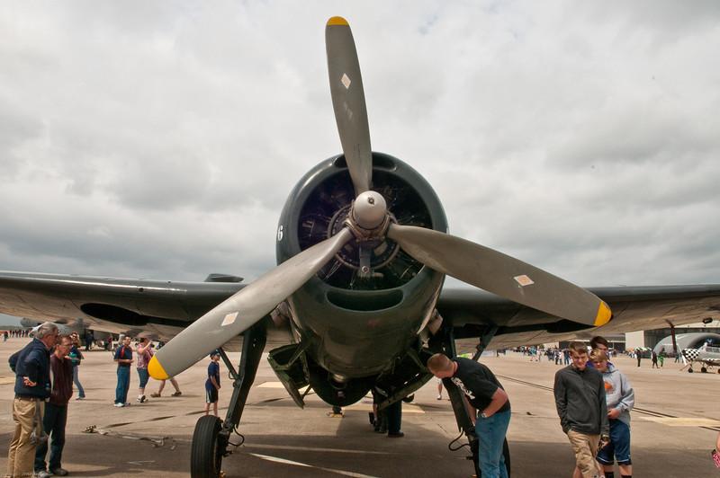 110416_Seymour-Johnson Air Show_068  Navy TBM-3.