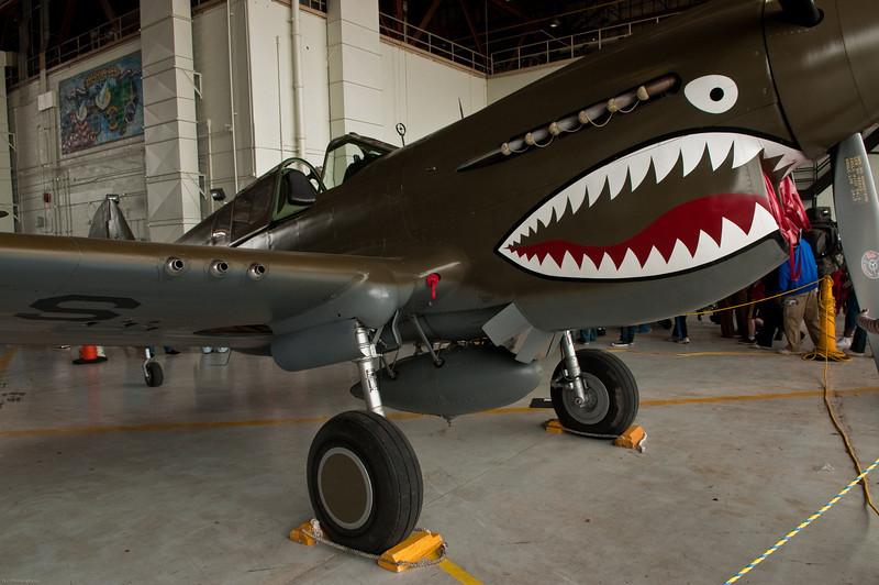 110416_Seymour-Johnson Air Show_089   P-40 Warhawk/Flying Tiger.
