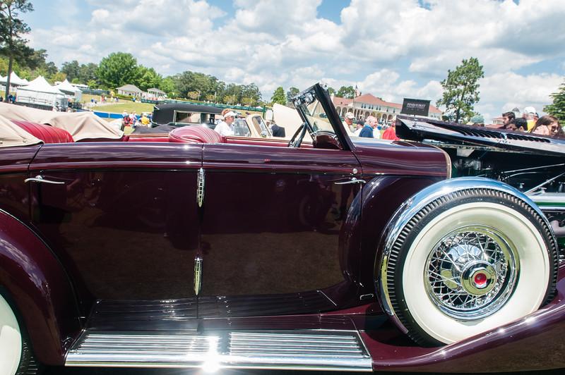 1937 Duesenberg JN Rollston SWB Convertable -9282