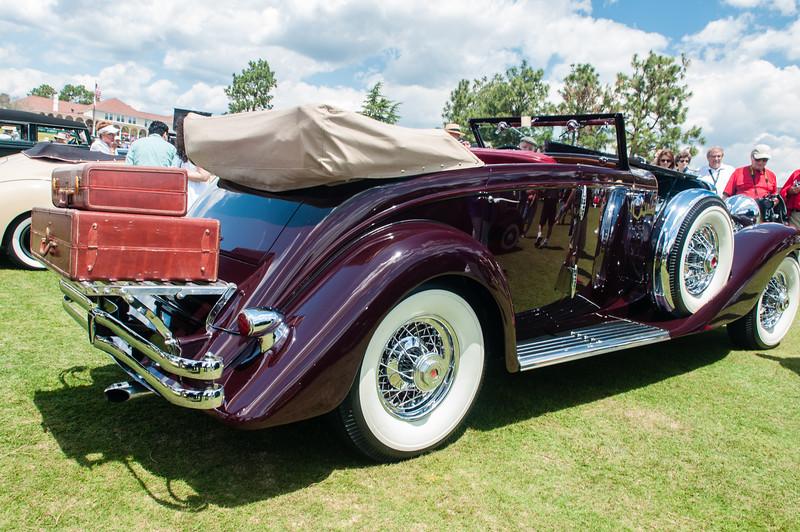 1937 Duesenberg JN Rollston SWB Convertable -9286