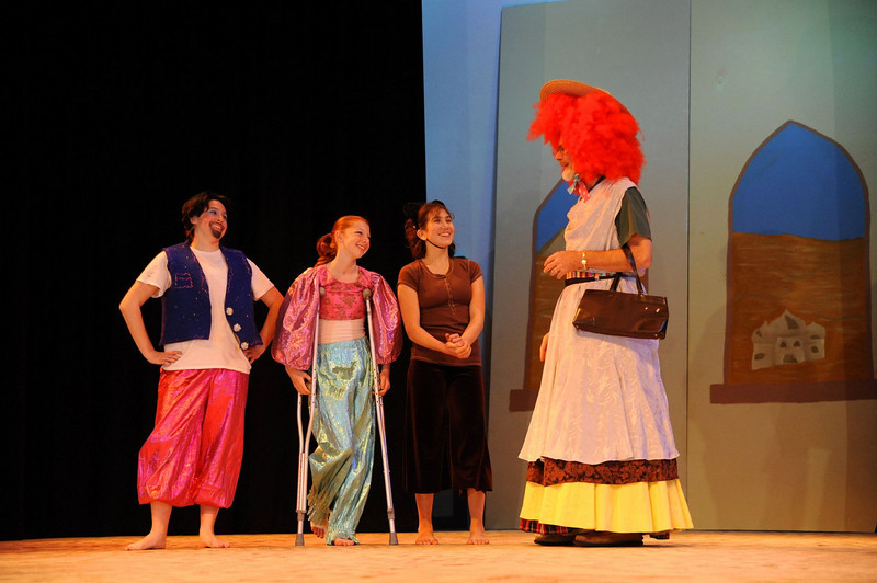 Castilleja Pantomime December, 2009