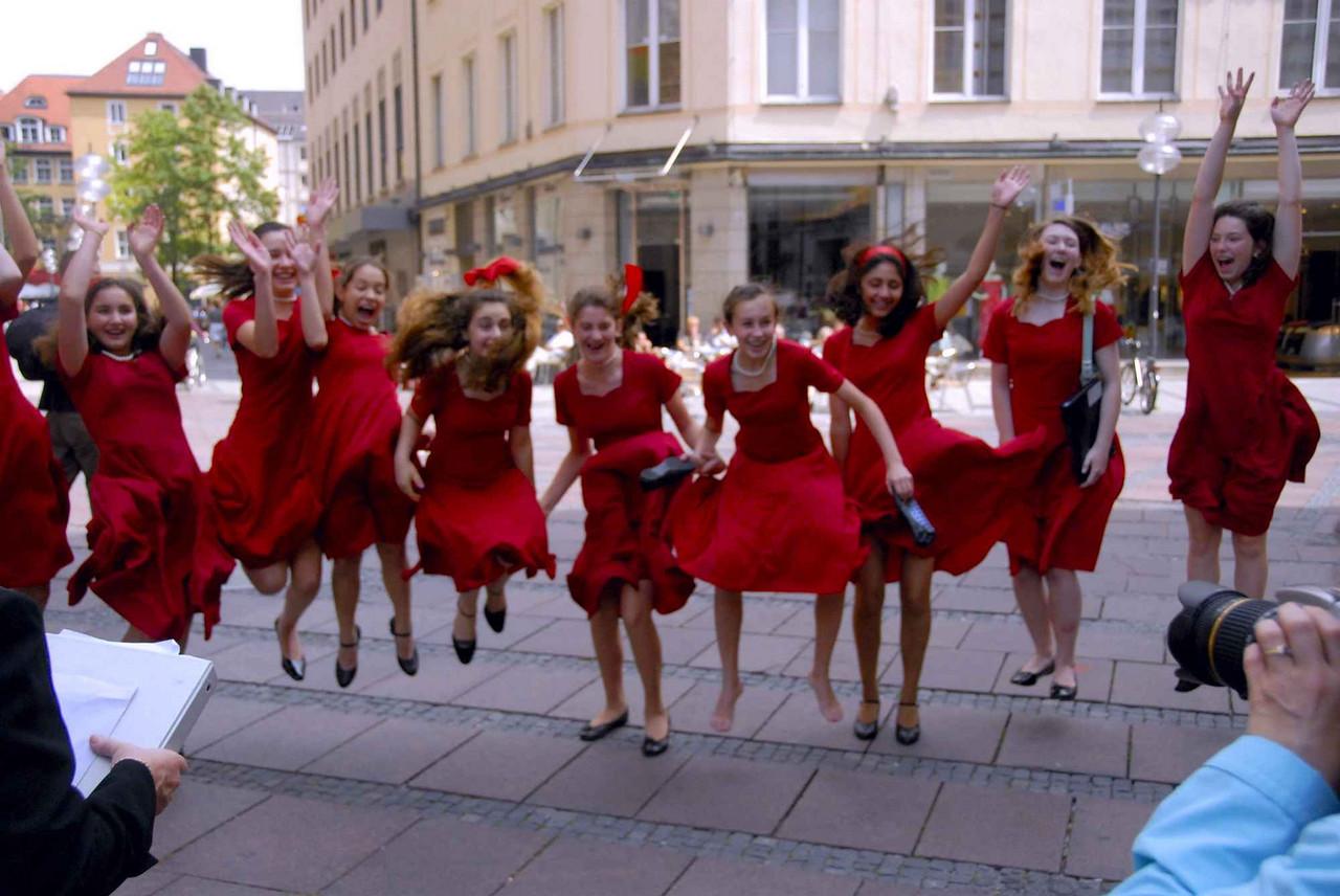 The celebratory Jump