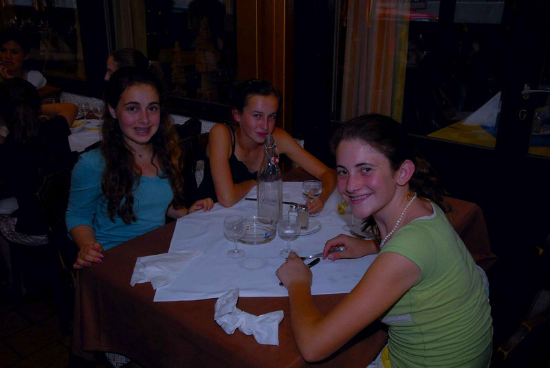 All the girls still seemed to have energy, although they were all clearly at least a little tired at the farewell dinner.