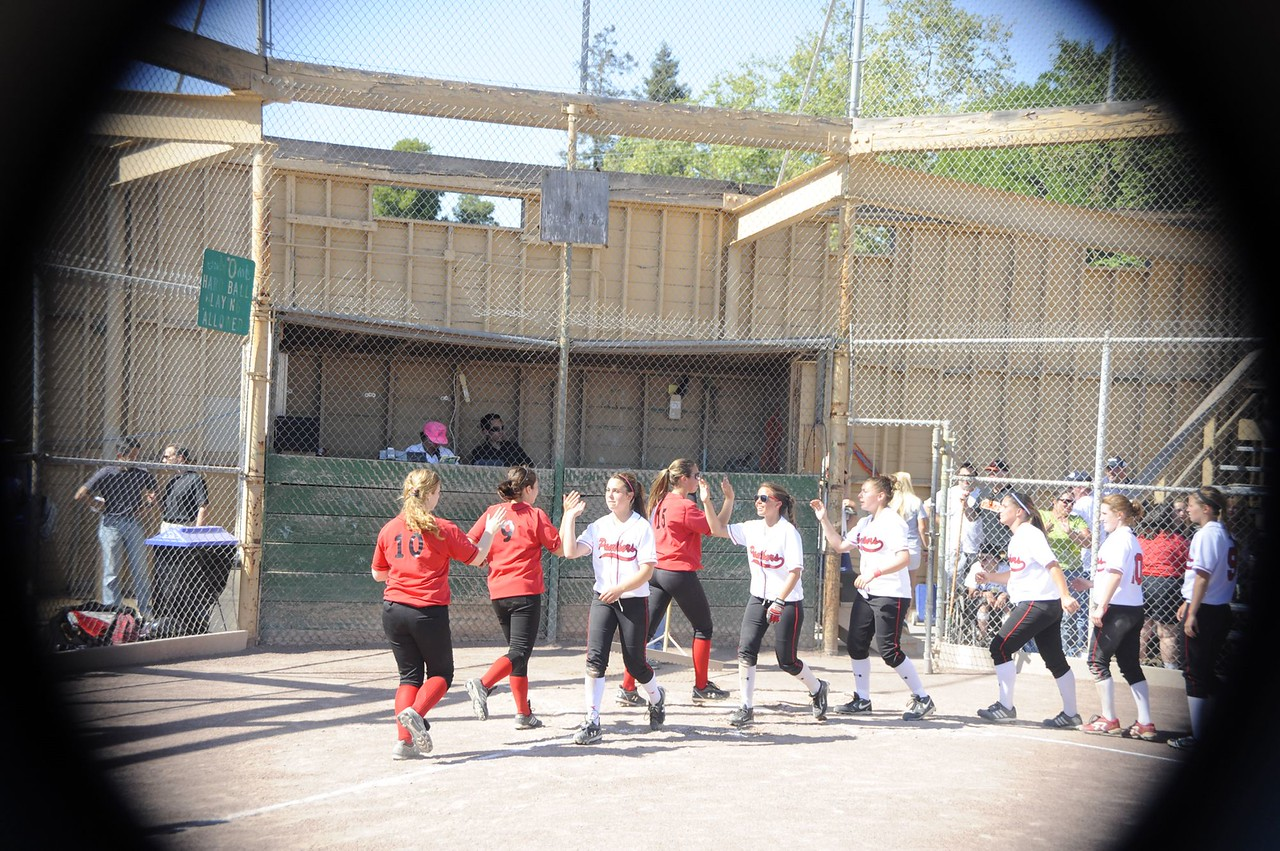 Castilleja Softball CCS Playoff vs Burlingame High School
