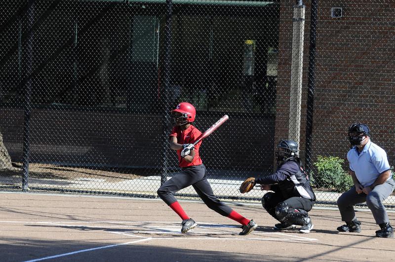 Castilleja Softball 1/ 750s, at f/6.7 || E.Comp:0 || 130mm || WB: AUTO 0. || ISO: 560 || Tone:  || Sharp:  || Camera: NIKON D300on: 2009:03:13 15:42:17