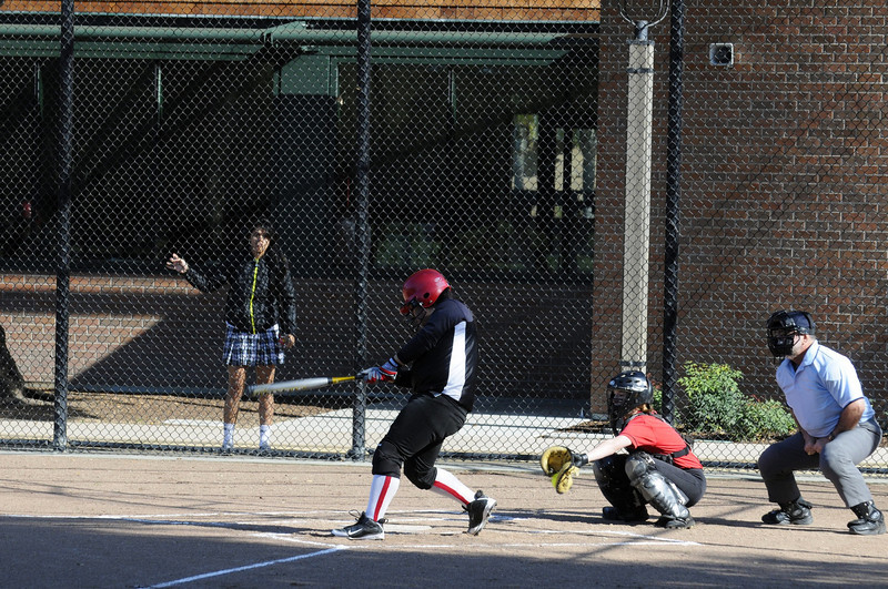 Castilleja Softball 1/ 750s, at f/6.7 || E.Comp:0 || 125mm || WB: AUTO 0. || ISO: 560 || Tone:  || Sharp:  || Camera: NIKON D300on: 2009:03:13 16:16:42