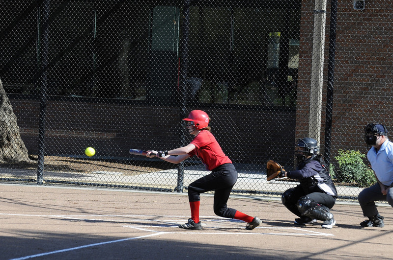 Castilleja Softball 1/ 750s, at f/6.7 || E.Comp:0 || 130mm || WB: AUTO 0. || ISO: 560 || Tone:  || Sharp:  || Camera: NIKON D300on: 2009:03:13 15:44:11
