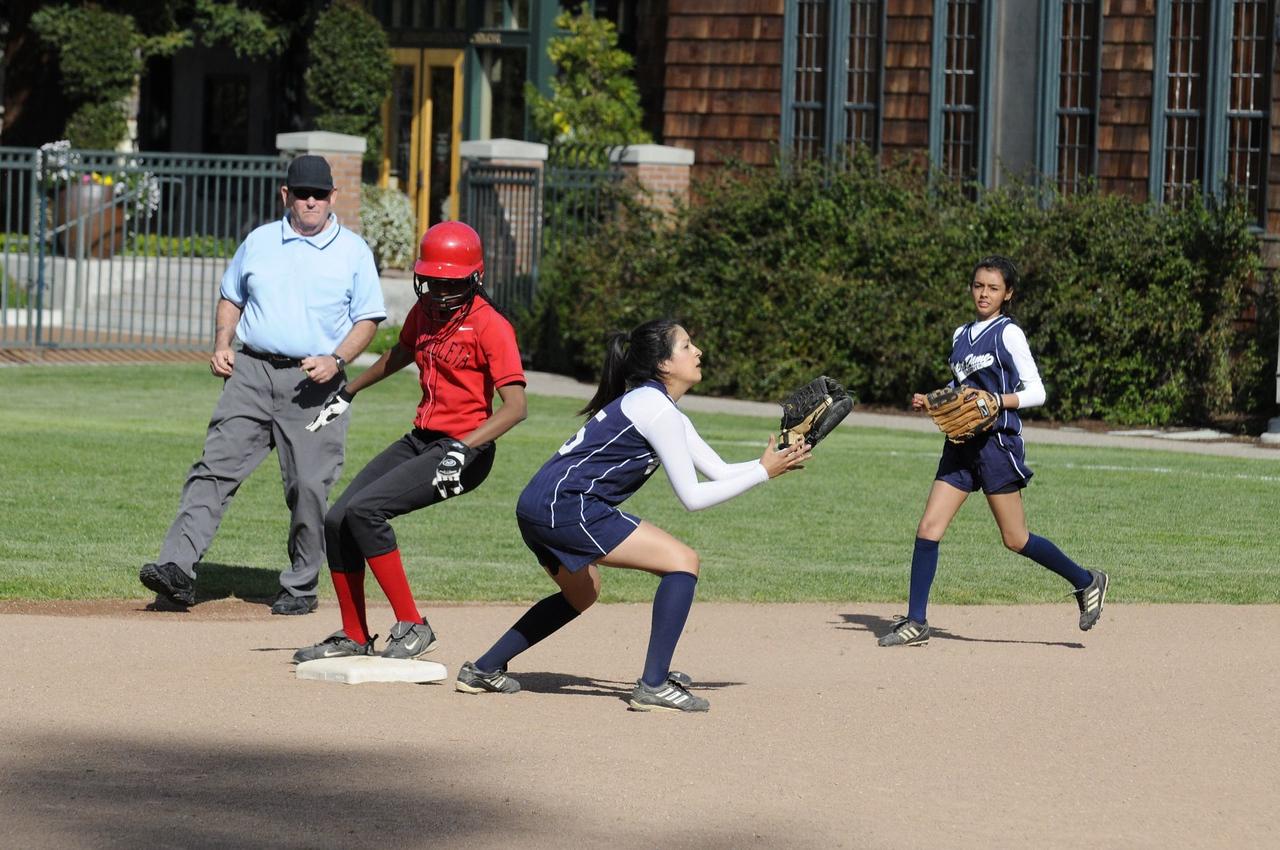 Castilleja Softball 1/ 1500s, at f/8    E.Comp:0    135mm    WB: AUTO 0.    ISO: 560    Tone:     Sharp:     Camera: NIKON D300on: 2009:03:20 16:12:37