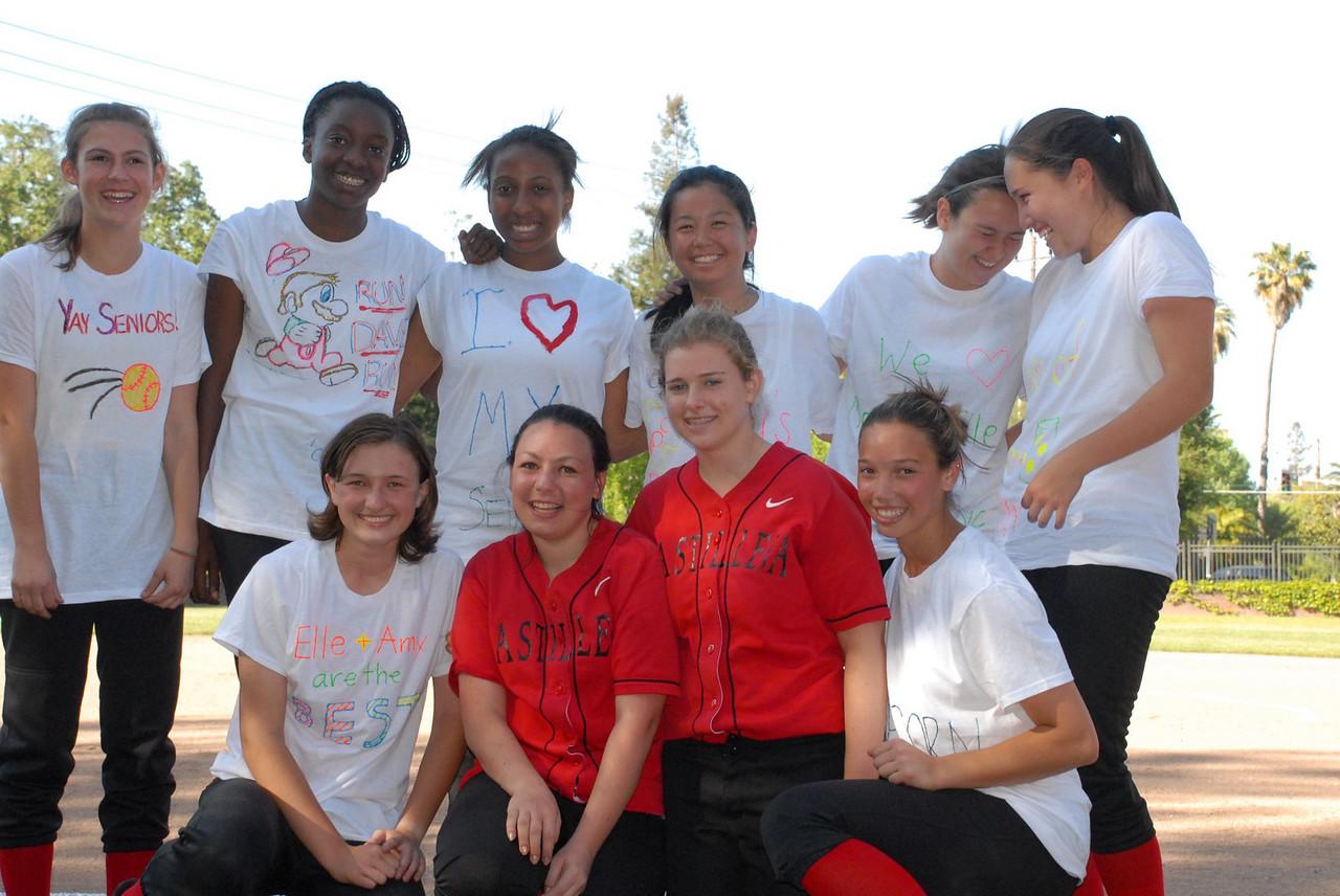 Castilleja Softball Senior Day 2009