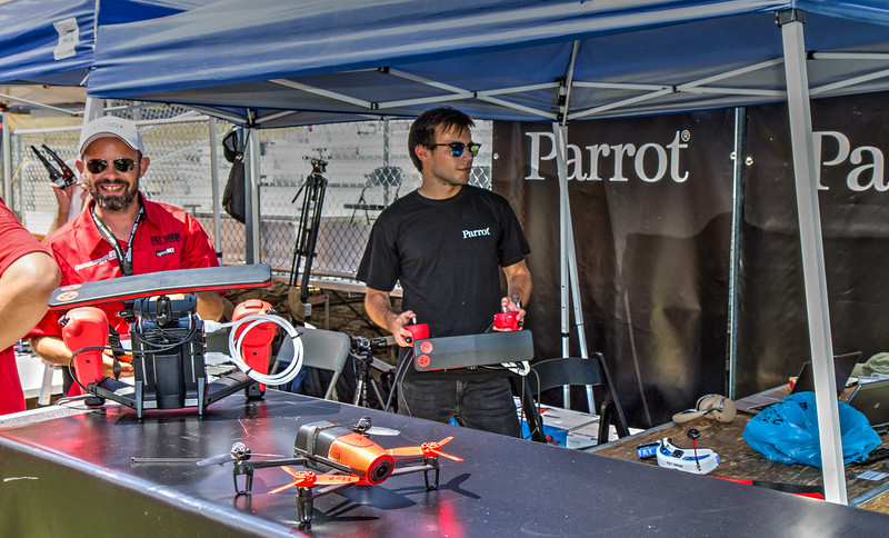38 Parrot aerial video production area