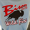 "Bison Fire Tuesday July 9, 2013 (4878) The Bison Fire commemorative shirt. ""Bison 2013 Wild Fire, Carson City District Nevada"" from thetshirtguy.com"