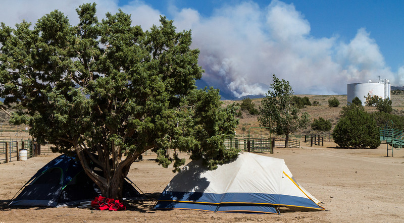 Bison Fire Incident Command Post at Douglas County Fairgrounds (4633)