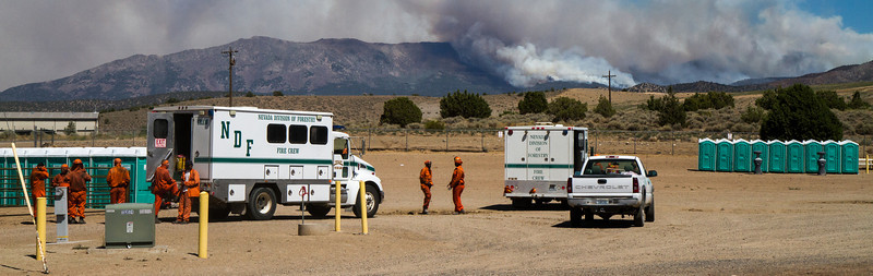 Bison Fire Incident Command Post at Douglas County Fairgrounds (4645)