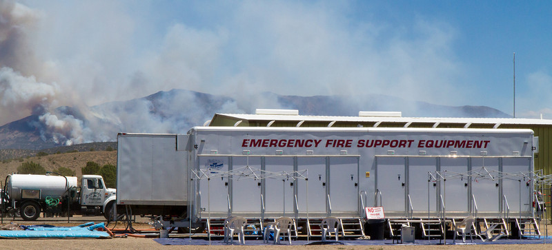 Bison Fire Incident Command Post at Douglas County Fairgrounds (4739)