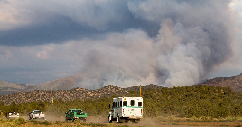 Bison Fire Thursday July 4, 2013 (4418)