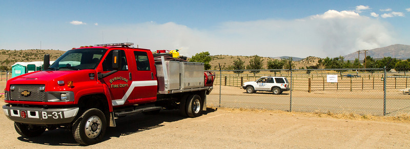 Bison Fire Tuesday July 9, 2013 (4871) Syracuse, Utah, Fire Department truck. Syracuse, Utah is 600 miles from Gardnerville, Nevada.