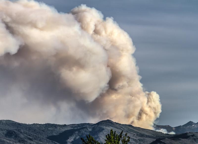 003 Washington Fire in Markleeville, Calif.