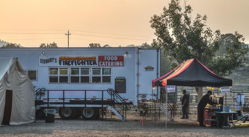 017 Washington Fire in Markleeville, Calif.