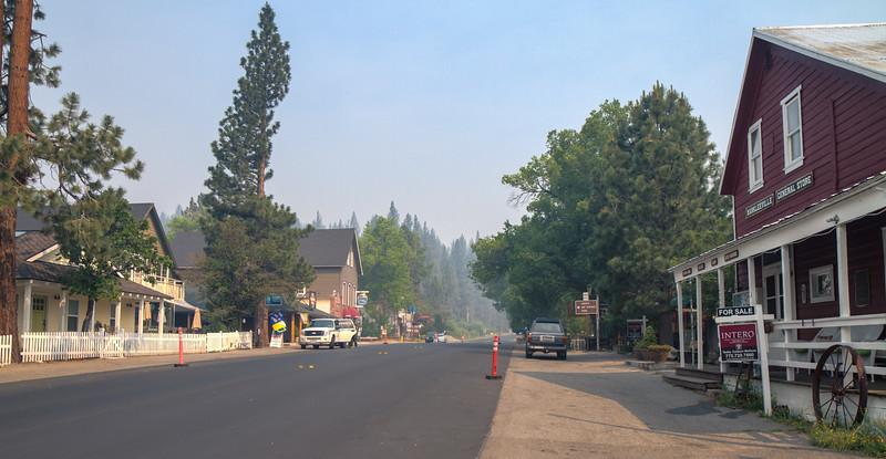025 Washington Fire in Markleeville, Calif.