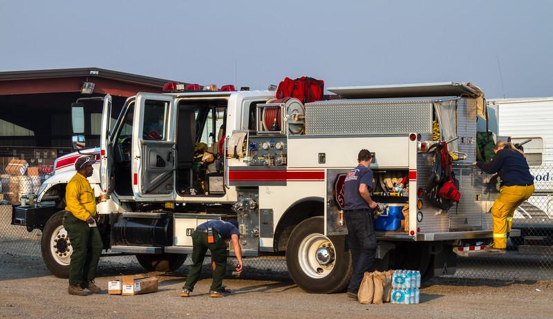 006 Washington Fire in Markleeville, Calif.