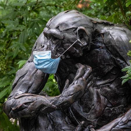 Masked Sculpture