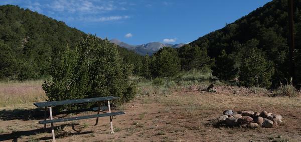 tent camping spot