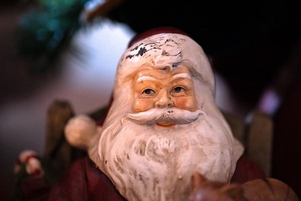 Santa Smiling Face : Happiness