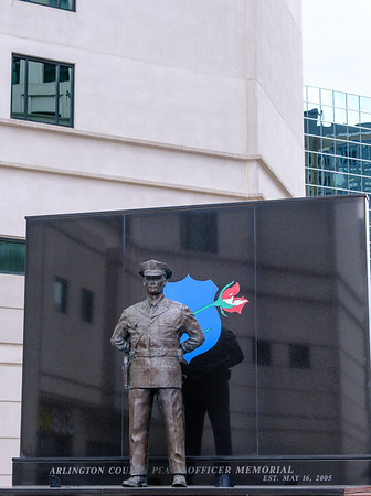 Arlington County Peace Office Memorial, 2005