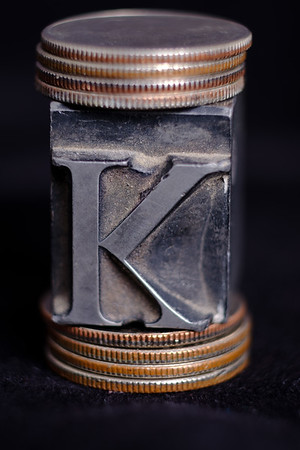 o K - stuck between the dollar